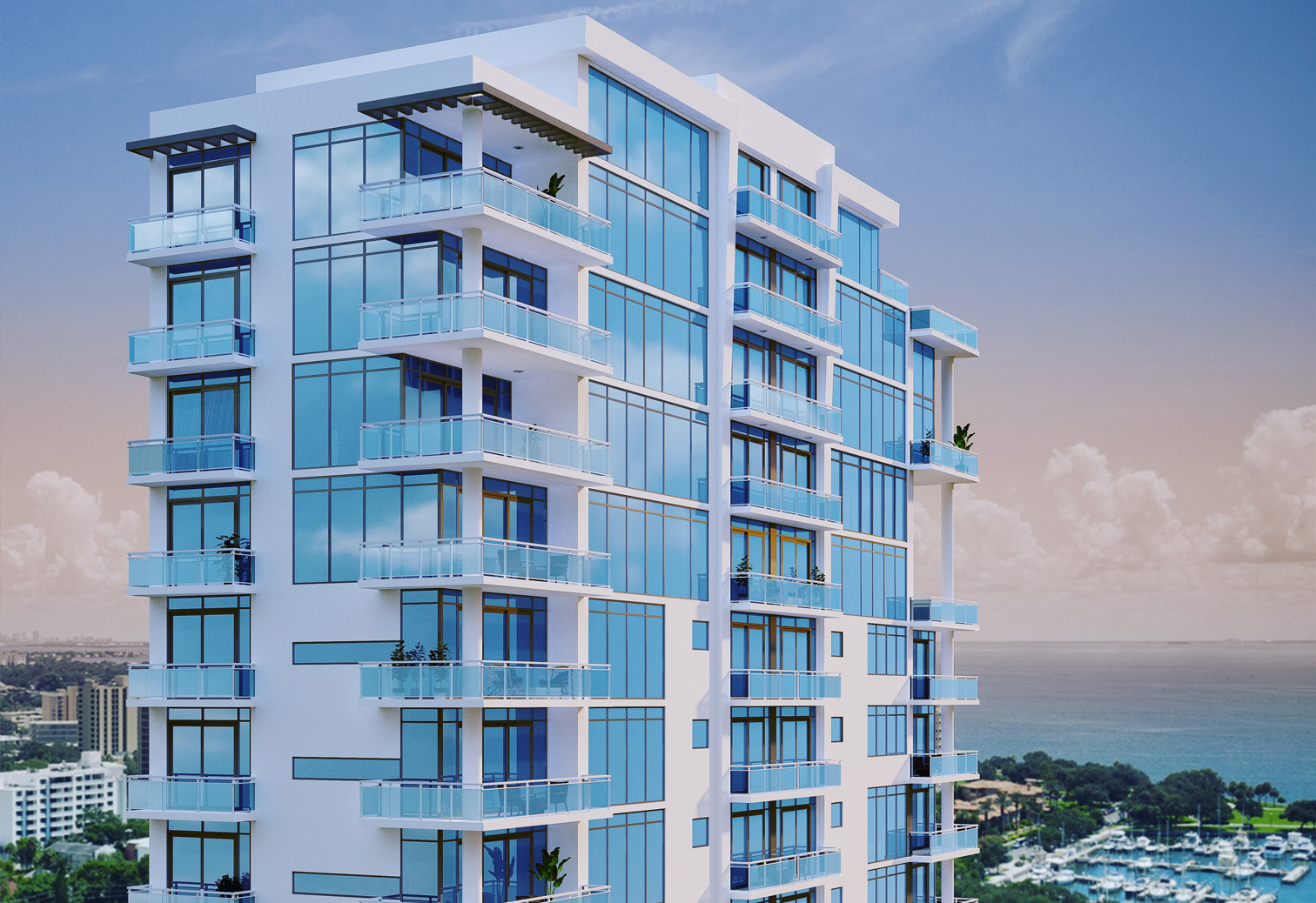 Image of Sales for The Julia, a 19-story condo tower, launch in downtown St. Pete.