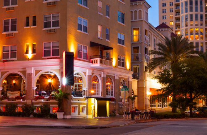 Location. In the heart of downtown St. Petersburg. Image